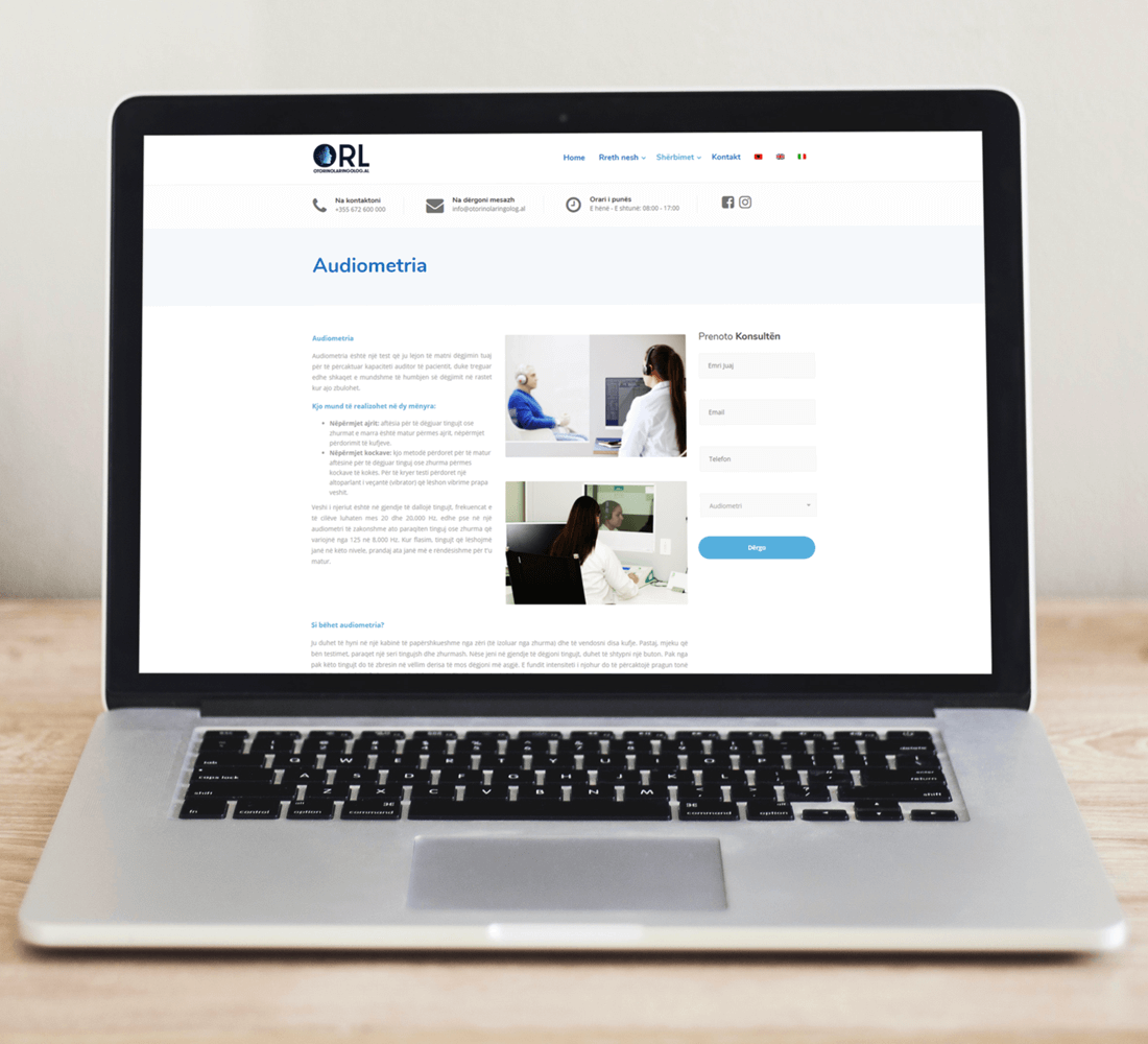 Otorinolaringolog Page